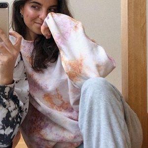 Urban Outfitters Urban Renewal Tie Dye Sweatshirt